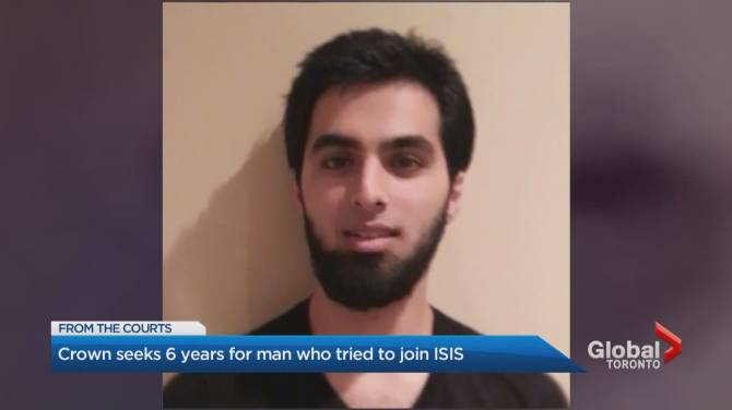 Toronto man who tried to join ISIS released from prison, official says