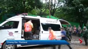 Thailand cave rescue begins: 4 boys now in hospital