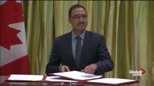 Amarjeet Sohi takes on role as Minister of Natural Resources
