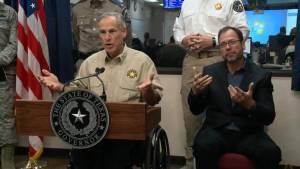 Texas governor warns of further flooding after Hurricane Harvey