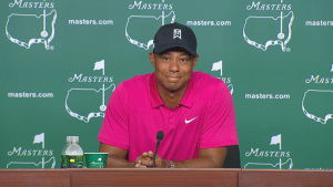 The Masters:  Tiger Woods ready to compete again