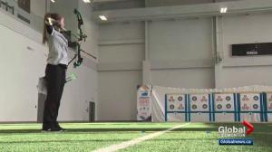 Alberta teen overcomes disability to compete in Archery