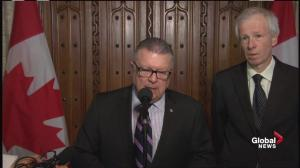 Ralph Goodale: No threat believed to be imminent for Canada at this time
