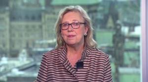 Green Party leader Elizabeth May talks Conservative climate plan and TMX
