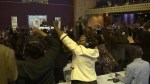 Robert Mugabe's resignation greeted with cheers and dancing in Zimbabwe parliament