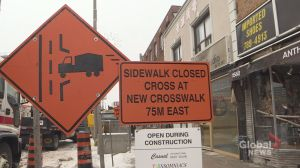 Toronto council considering assistance for suffering Eglinton Avenue businesses