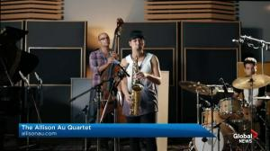Juno Award winner performs on Global News Morning