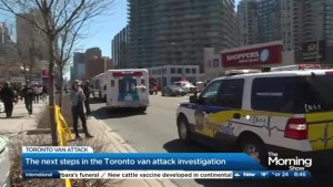 The next steps in the Van Attack investigation