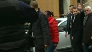Macron visits riot-damaged Arc de Triomphe