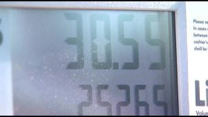 Why did gas prices jump nearly 13 cents in Kingston?