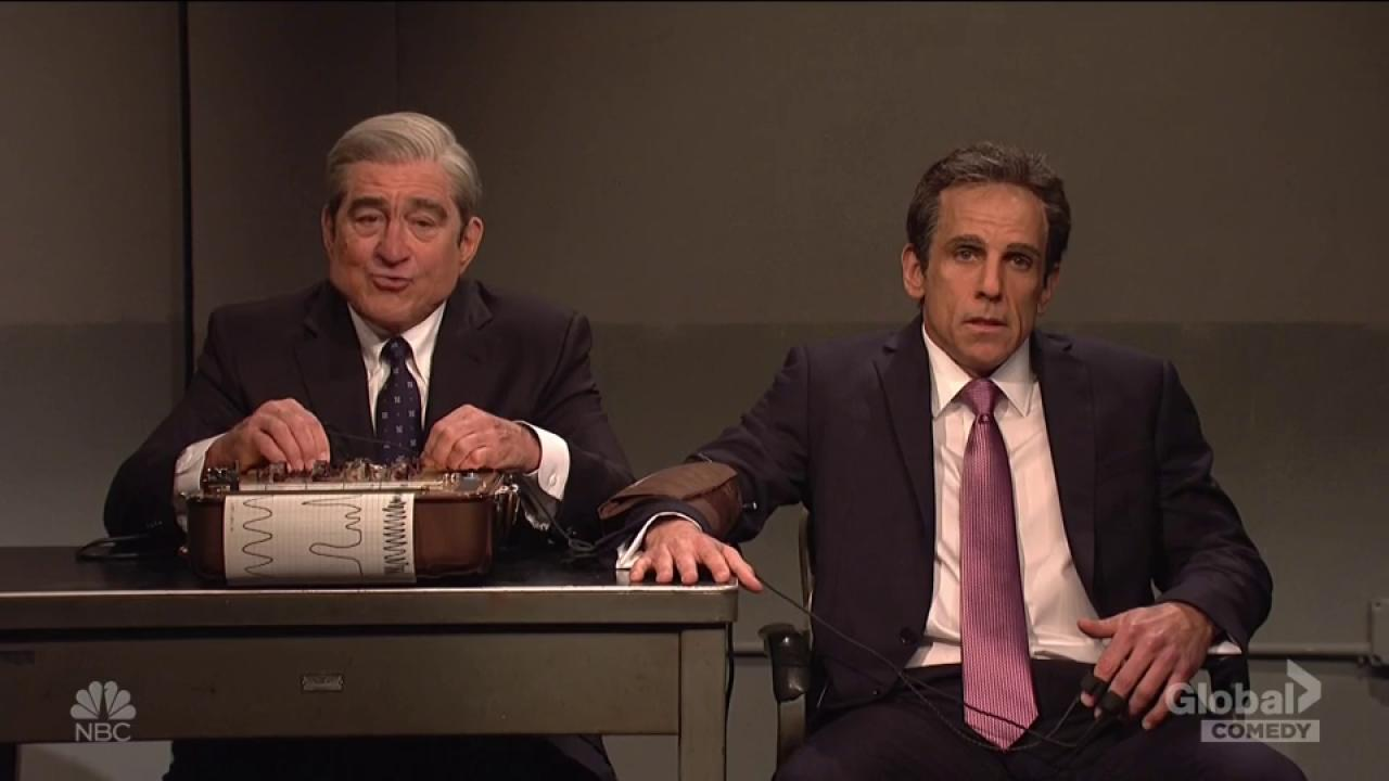 'SNL': De Niro, Stiller reunite for Mueller-Cohen lie-detector tango