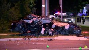 Woman dead after 2-vehicle crash in Richmond Hill