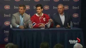 Max Pacioretty named Canadiens captain