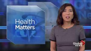 Today's Global News Hour at 6 Health Matters is brought to you by Pharmasave.