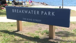 Kingston's Breakwater Park officially re-opens