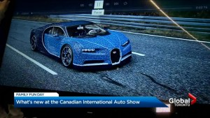 Canadian International Auto Show: New, old, and a car in a million pieces