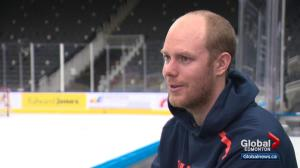 Oilers Mikko Koskinen prepares for first Christmas in Canada