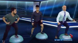 Fit tips with Blitz Conditoning: 4 BOSU balance trainer exercises