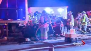 Toronto man dies in Highway 401 crash