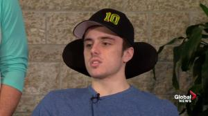 'Trying to get better for those guys who didn't make it': Humboldt crash survivor
