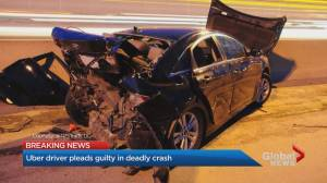 Former Uber driver pleads guilty to careless driving after fatal crash on Gardiner Expressway