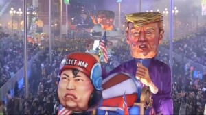 Nice kicks off annual carnival with Donald Trump and Kim Jong Un on parade