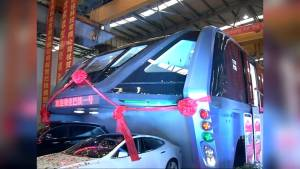 China unveils new 'Elevated Bus' that carries 1,200 passengers