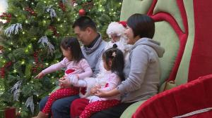 Kildonan Place opens early to allow kids with special needs a visit with Santa