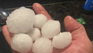 Edmonton region pounded by hail