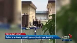 RCMP surround home in Cochrane