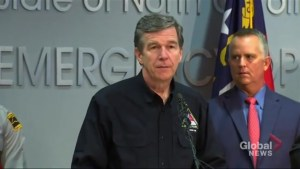 Hurricane Florence: 'You need to get yourself to a safe place now and stay there' says NC governor