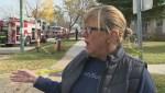 Eye-witness account of house fire on Rannock