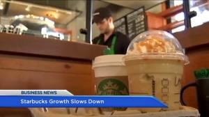 BIV: Starbucks growth slows down