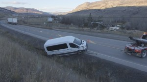 Secondary school students injured in bus crash near Cache Creek