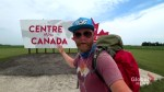 Saskatchewan man explores Canada by walking across the country