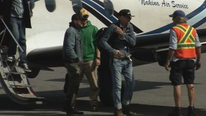 Gord Downie arrives in in Marten Falls to support First Nations