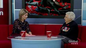 Veteran shares her story from the Second World War