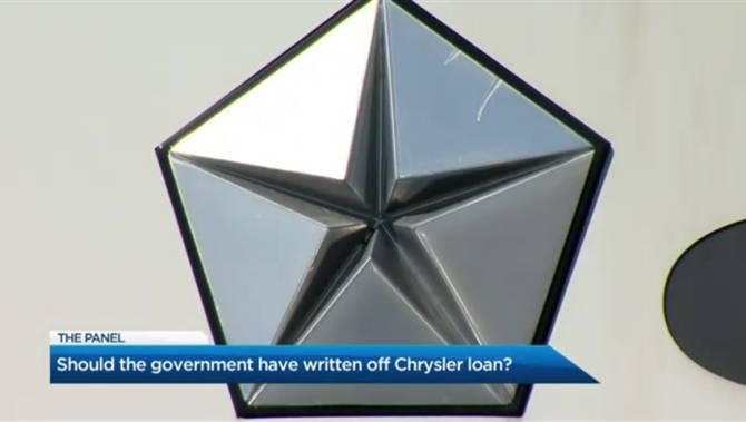 Ontario government writes off $445M in old Chrysler debt from bailout