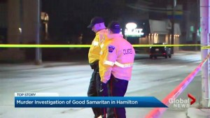 Murder investigation of Good Samaritan in Hamilton