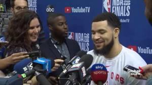 NBA Finals: VanVleet says tooth repaired, feeling better