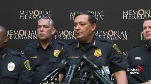 Police say officer in 'really tough fight' after Houston shooting