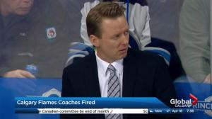 Flames fire coaching staff