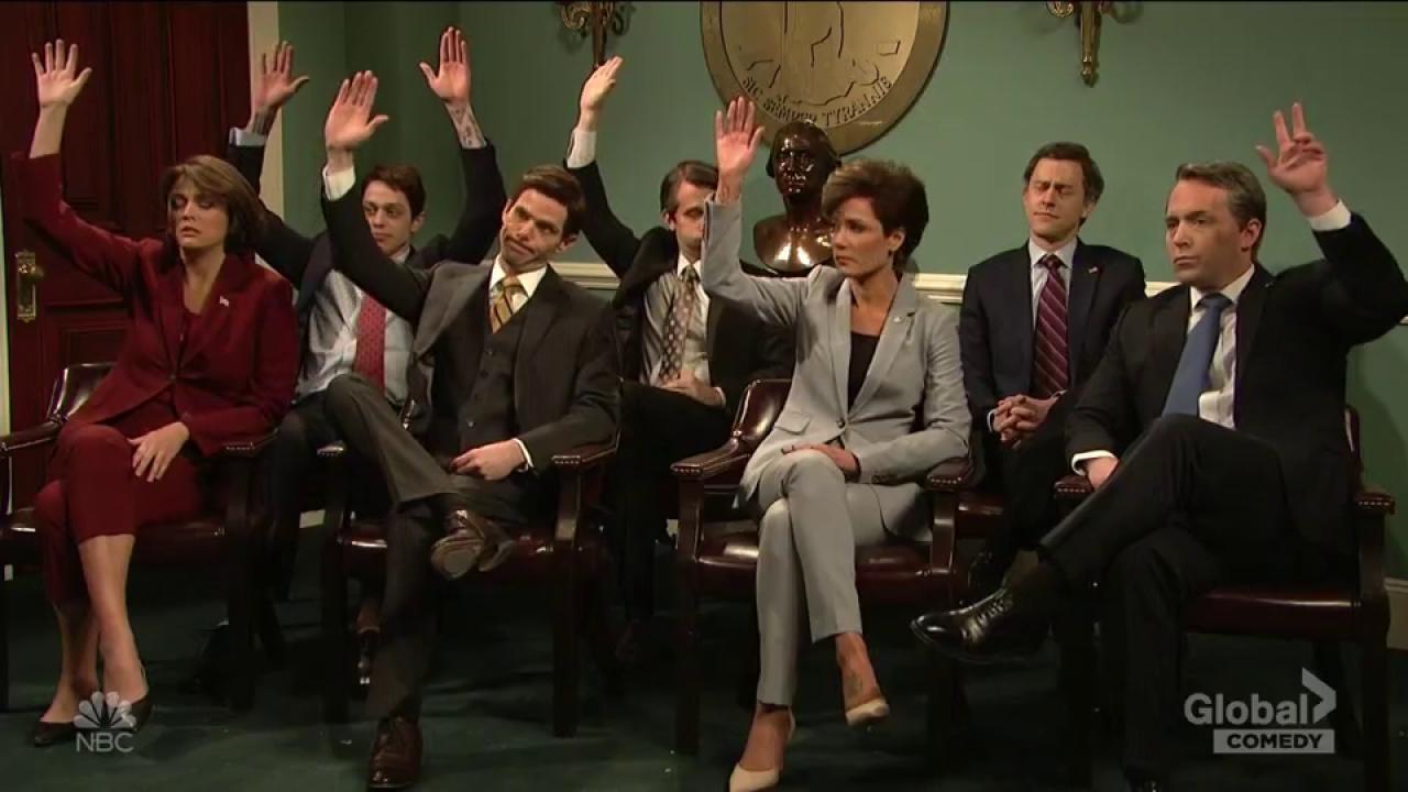 'SNL' Mocks Completely Clueless Leaders In Virginia Blackface Scandal