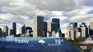 Edmonton early morning weather forecast: Friday, May 24, 2019
