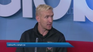 New head coach and GM of Valour FC on Global News Morning