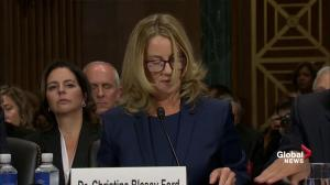 Christine Blasey Ford said she's 'terrified' to testify before Senate