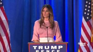Melania Trump to work to help women 'left behind'