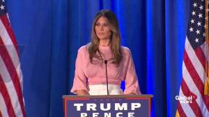 Melania Trump to work to help women 'left behind'