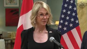 New U.S. ambassador to Canada offers condolences to Gord Downie