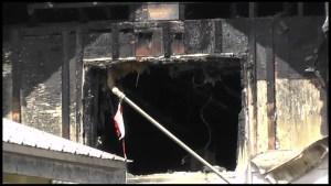 Fire destroys house in Omemee